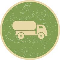 Vektor-Tankwagen-Symbol vektor