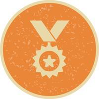 Medaille Symbol Vektor-Illustration