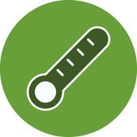 Vektor-Thermometer-Symbol