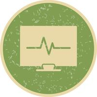 Vektor-EKG-Symbol