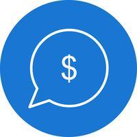 Vektor senden Sie Geld-Symbol