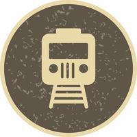 Vektor-Zug-Symbol