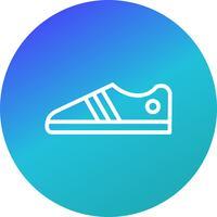 Schuh-Ikonen-Vektor-Illustration