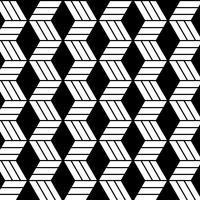 Abstraktes geometrisches nahtloses Muster vektor