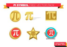 Pi-Symbol kostenlose Vektor-Pack