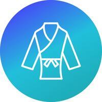 Karate-Symbol-Vektor-Illustration vektor