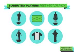 Subbuteo Gratis Vector Pack