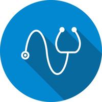 Vektor-Stethoskop-Symbol