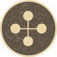 Vektor-Link-Gebäude-Symbol