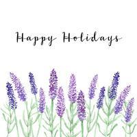 Frohe Feiertage Hintergrund vektor