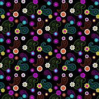 mod florales paisley-muster
