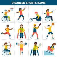 Handikappade ikoner