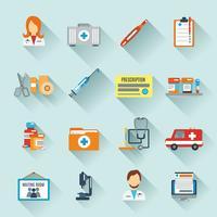 Läkarsymbolsuppsättning
