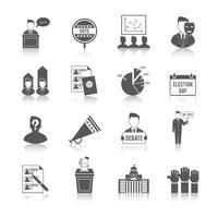 Val ikonuppsättning