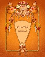 Afrikanischer farbiger Hintergrund