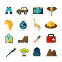 Safari ikoner inställda