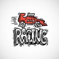 Racing ikon skiss