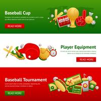 baseball banner set