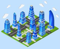 Branchenplanung der Bürostadt