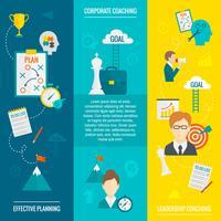 Coaching Geschäftsfahne