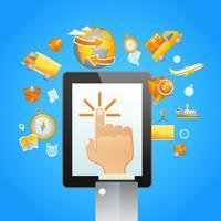 Touchpad-Logistik