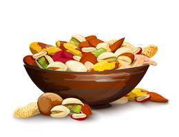 Kopp med nötter
