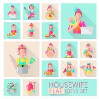 Hausfrau Flat Set