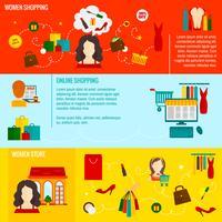 Fraueneinkaufsfahne