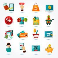 E-Commerce-Icons Set vektor