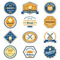 Cupcake-Bäckerei-Etiketten