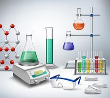 Science Lab Bakgrund
