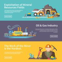 Miner-Banner-Set