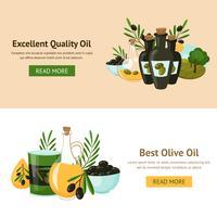 oliv designkoncept vektor