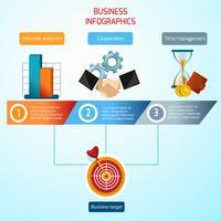 Geschäft Infografiken Set vektor
