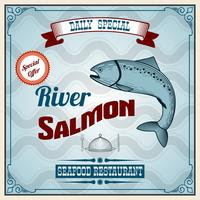 Fisk Retro affisch
