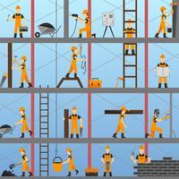 Bauprozess Hintergrund