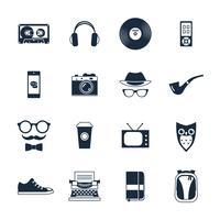 Hipster-ikoner