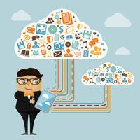 Cloud teknik för företag