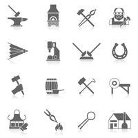 smed ikonuppsättning