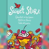 Sweet Store Bakgrund