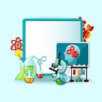 vetenskap begrepp illustration
