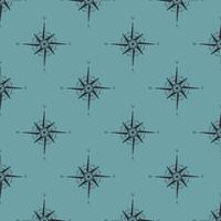 Resor sömlöst mönster vektor