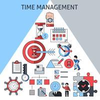 Time management koncept