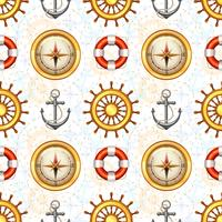 Marine nahtlose Muster