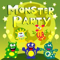 monster party affisch