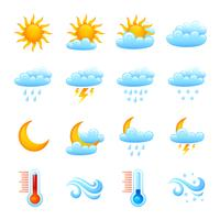 Wetter-Icon-Set