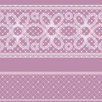 Nahtloses Muster mit Spitze für Design