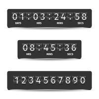 Countdown-Timer-Abbildung vektor