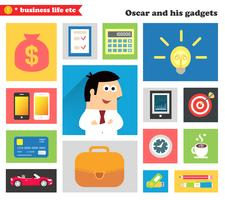 Business-Gadgets und so vektor
