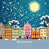 Weihnachtshaus Hintergrund